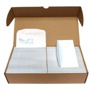 Envelope De Vroede type 1A gummed printed inside - box of 1000