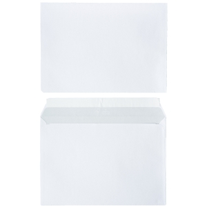 FSC envelopes 162x229mm peel and seal 80g - box of 500