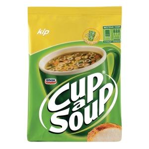 Cup-a-soup soep voor dispenser kip 40 porties