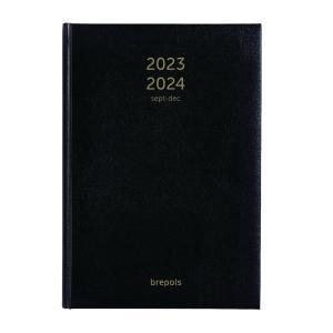 Brepols Bretime desk diary 16 months black