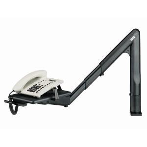 Exacompta telefoonarm telescopisch zwart