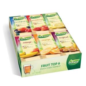 Pickwick theezakjes Fruitassortiment - doos van 6 x 25 theezakjes