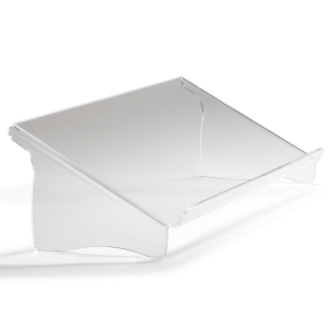 Ergo 1500 document holder in acrylic A3 solid height transparent