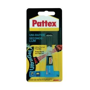 Pattex PowerGel secondelijm tube 3 g
