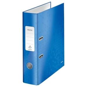 Leitz WOW ordner 180°, 80 mm, blauw
