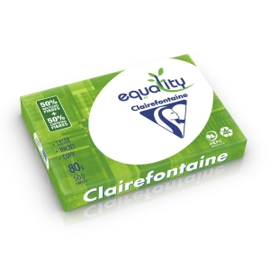 Equality recycled paper A3 80g - 1 box = 5 reams of 500 sheets