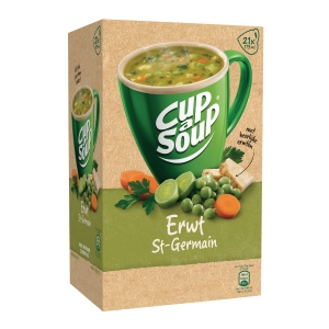 Cup-a-soup bags - peas - box of 21