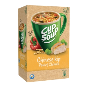 Cup-a-soup bags - Chinese Chicken - box of 21