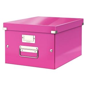 Leitz Click & Store opbergdoos voor A4 formaat roze