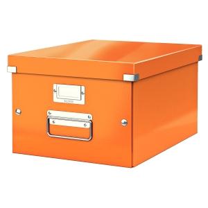 Leitz Click & Store opbergdoos voor A4 formaat oranje