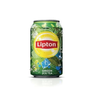 Ice Tea Green blikje 33cl - pak van 24