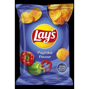 Lays chips paprika 40g - pack of 20
