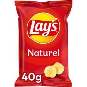 Lays chips zout 40g - pak van 20