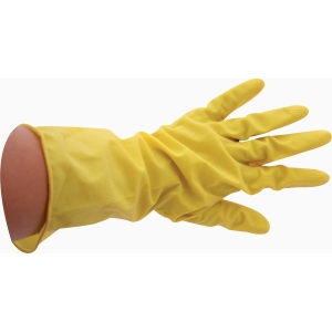 Afwashandschoenen met latex medium - pak van 12