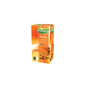 Pickwick tea bags Rooibos  - box of 3 x 25 bags