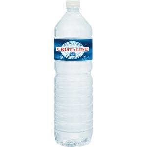 Cristaline plat water, pak van 6 flessen van 1,5 l