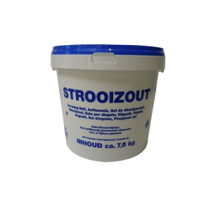 Road salt - bucket of 7,5kg