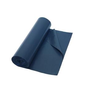 Vuilniszak 40 micron LDPE 60x80cm grijs - rol van 20