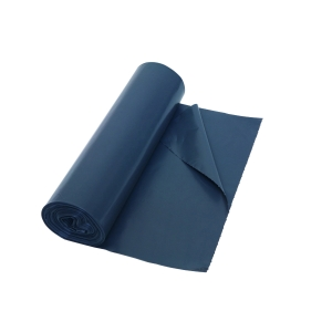 Vuilniszak 60 micron LDPE 70x110cm grijs - rol van 25