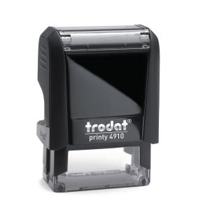 Trodat Printy 4910 personaliseerbare stempel 26 x 9mm 3 lijnen