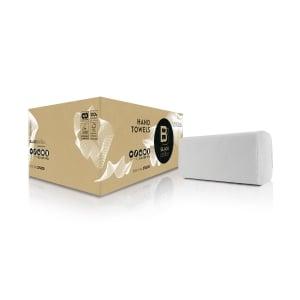 Satino Black handtowel 2-layer - pack of 3200