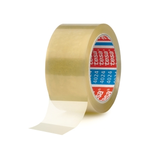 Tesa 4024 PP packaging tape 50 mm x 100 m transparent - pack of 6
