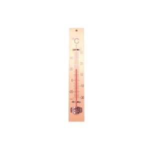 Bouhon wooden classroom thermometer 24 x 4 cm