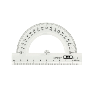 Protractor M+R  10 cm