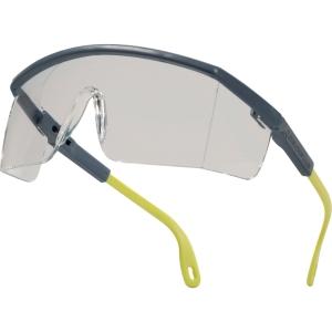 Delta Plus Kilimandjaro PC veiligheidsbril grijs/geel - heldere lens