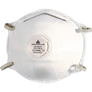 Delta Plus M1100VC respirator mask FFP1 with valve - box of 10