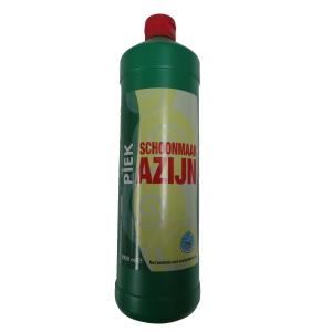 Piek schoonmaakazijn fles van 1L