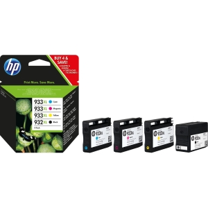 HP C2P42AE inkjet cartridge nr.932XL/933XL zwart/kleur HC [1.000+825 pagina s]