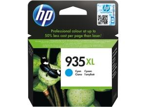 HP 935XL (C2P24AE) inkt cartridge, cyaan, hoge capaciteit