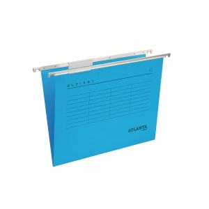 Atlanta Alzicht suspension files A4 V- spine blue - pack of 25