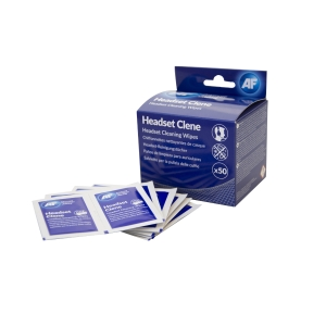 AF Headset Clene cleaning wipes - pack of 50