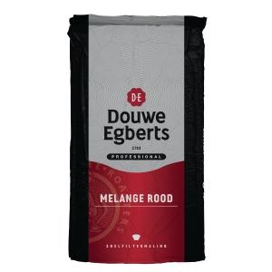 Douwe Egberts koffie Rood snelfiltermaling - pak van 1000 gram