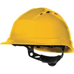 Deltaplus Quartz IV Up 8-punt veiligheidshelm PP geel