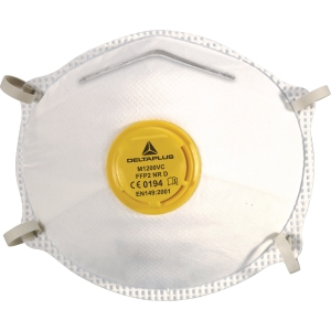 Delta Plus M1200VC respiratory masks FFP2 with valve - box of 10