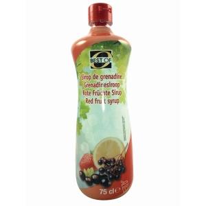Best Of siroop rood fruit, 0,75 l, pak van 6 flessen