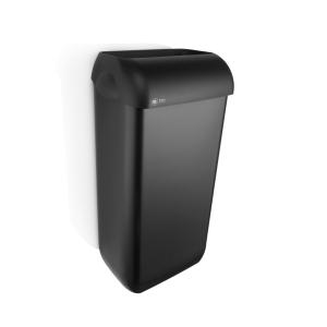 Satino Black afvalbak 23l zwart