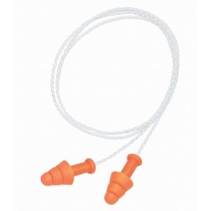 Howard Leight SmartFit herbruikbare oordoppen met koord SNR 30dB - pak van 50 pr