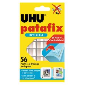 UHU Patafix kleefpads transparant - pak van 56