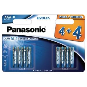 Panasonic LR6/AAA evolta alkaline batterij -pak van 8