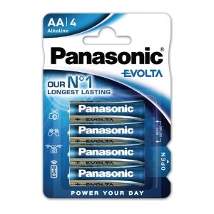 Panasonic LR6/AA evolta alkaline batterij - pak van 4