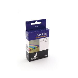 Calico chalk assorted colours - pack of 12