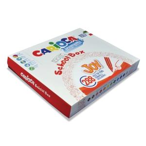 Carioca Joy Superwash fijne viltstiften assorti - klaspak van 288