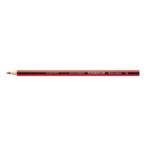 Staedtler Noris kleurpotloden - rood - pak van 12