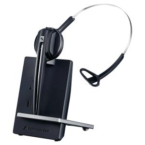 Sennheiser D10 draadloze telefoon headset, monauraal met 1 oorschelp