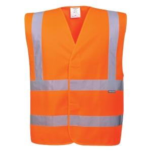 Portwest C470 hi-viz fluohesje, fluo oranje, maat S/M, per stuk