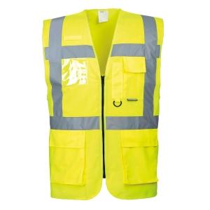 Portwest S476 hi-viz gilet Executive geel - maat S